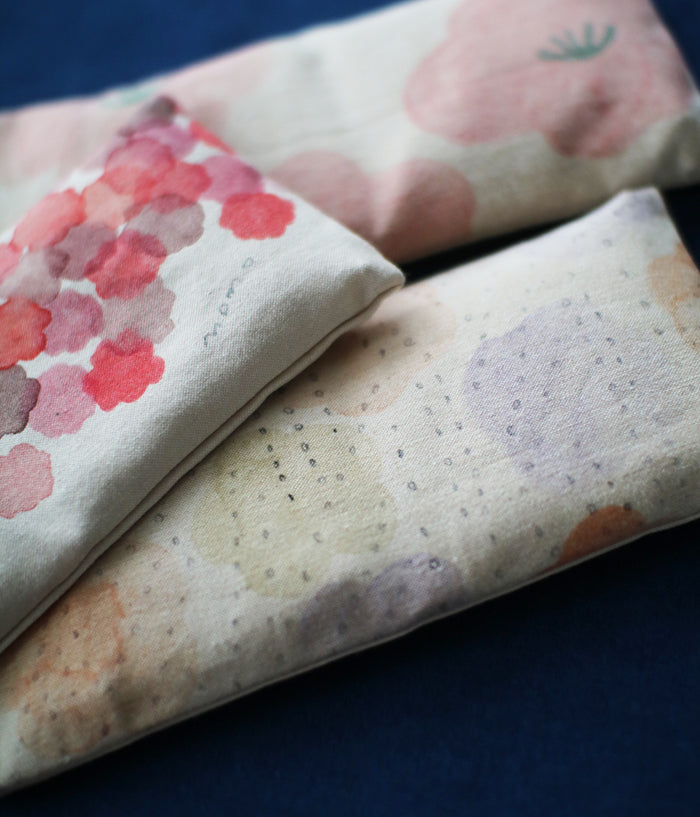 Warm Eye Pillow with Japanese Forest Mist