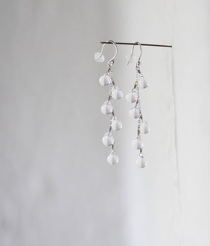 Koto Tsuchiya HARRYS Morning Dew Glass Earrings