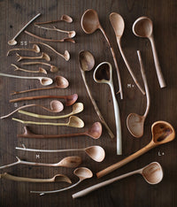 Branch Condiments Spoons [SS] Plum