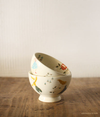 SOLD OUT - Aya Yamanobe Ceramic Small Round Tea Cup {Party}