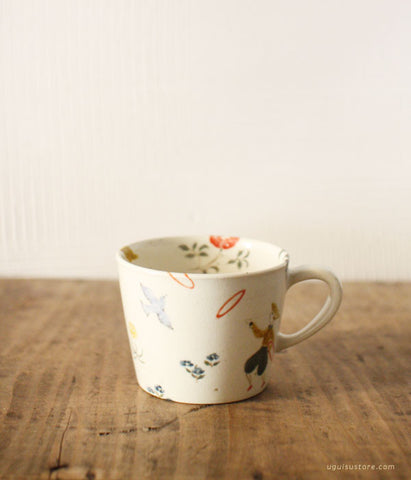 SOLD OUT - Aya Yamanobe Ceramic Mug {Party)