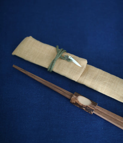Carry-Your-Own Bamboo Chopsticks Set