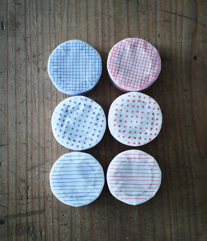 Dots/Stripe/Grid Masking Tapes