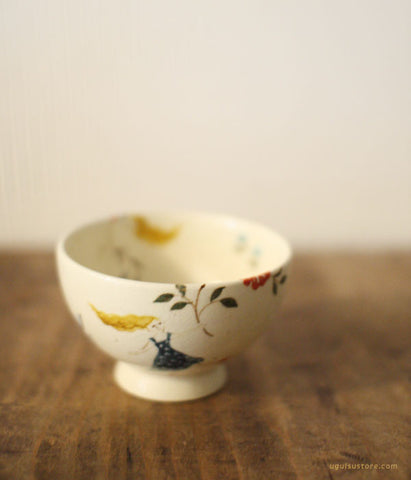 [SOLD OUT] YAMANOBE Aya Ceramic Small Round Tea Cup {Party}