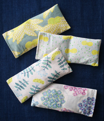 Warm Eye Pillow with Japanese Forest Mist (NEW DESIGNS)