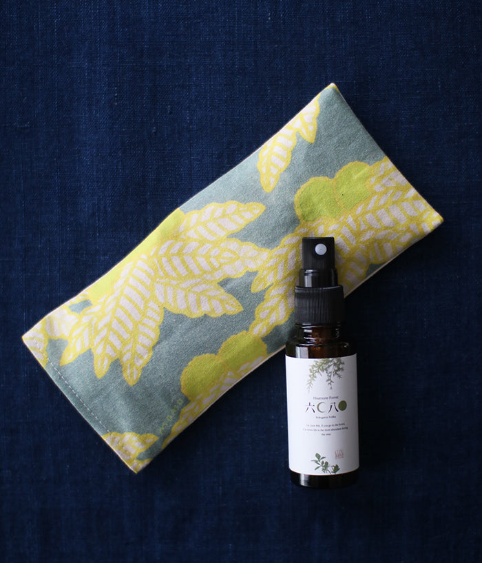 Warm Eye Pillow with Japanese Forest Mist {Chestnut Trees}