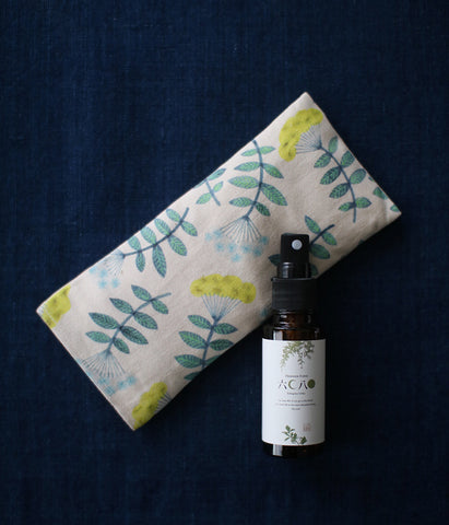 Warm Eye Pillow with Japanese Forest Mist {Like Star Blooming}