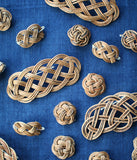 Akebi Weaving Musubi Brooches (Large)