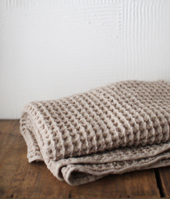Brera Waffle Large Bath Towel [XL] (backordered)