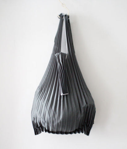 Kna Plus Pleated Eco-Bag Small {Grey}