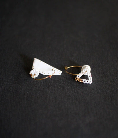 [SOLD OUT] Kimiko Suzuki Hoop Earrings #24