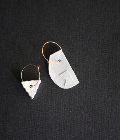 [SOLD OUT] Kimiko Suzuki Hoop Earrings #25