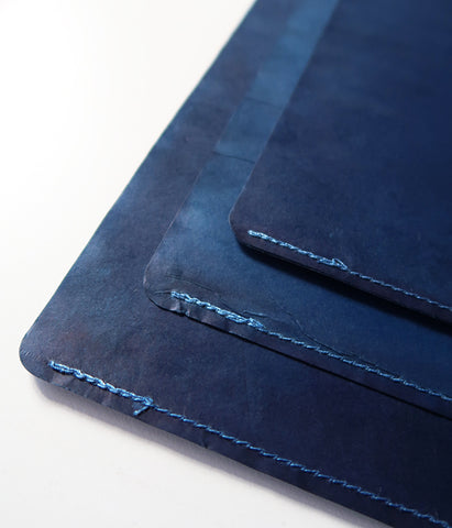 Indigo Dyed Wax-Paper File
