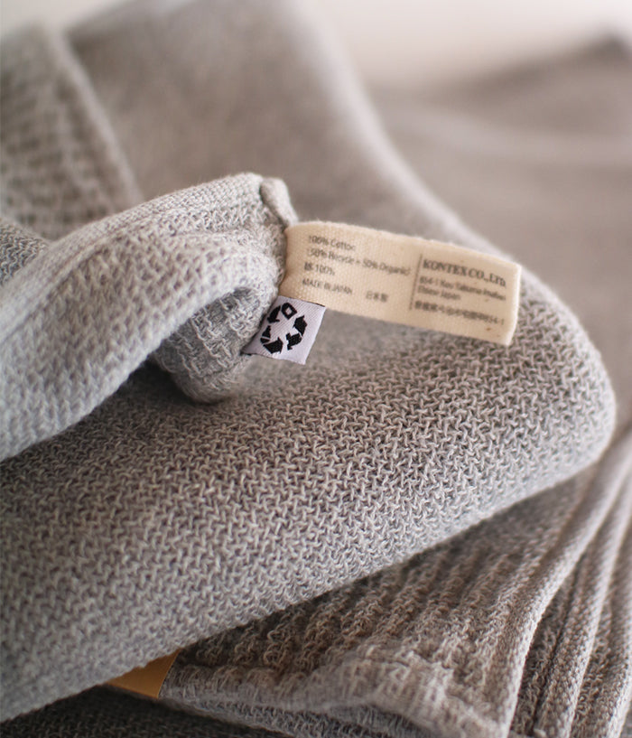 Re.Lana Towel [Organic Cotton + Recycled Cotton]