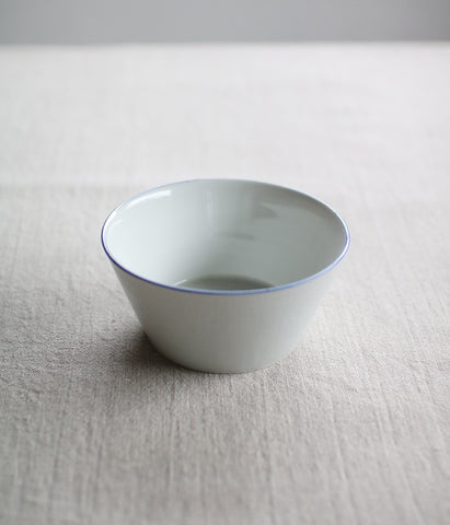 Blue Line Porcelain Small Bowl (backorder - will be shipped in July)