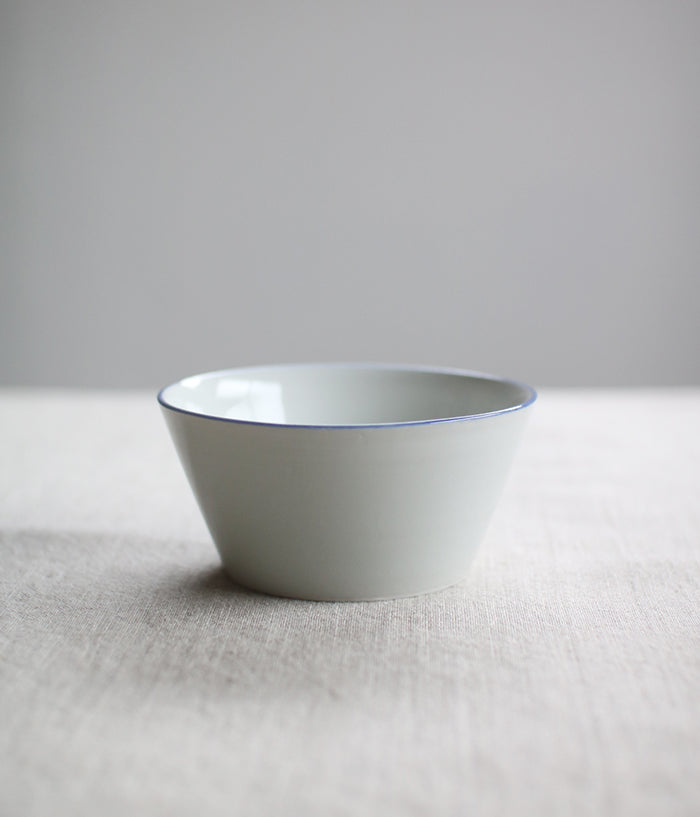 Blue Line Porcelain Small Bowl