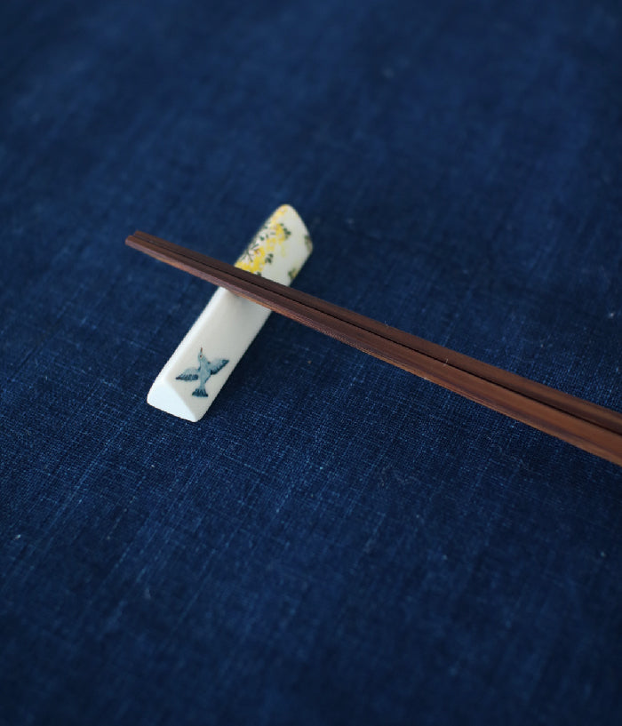 Yellow Flower Chopstick Rests (set of 2)