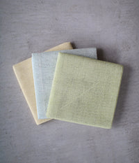 Vegetable Dyed Hana-Fukin Kitchen Cloth {Spinach}