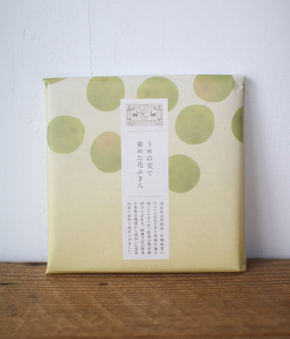 Vegetable Dyed Hana-Fukin Kitchen Cloth {Japanese Plum}