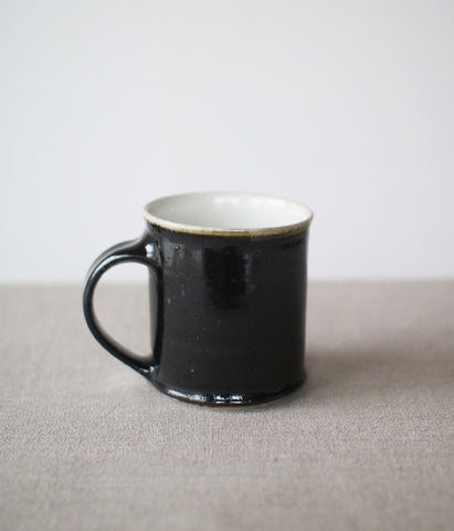 Gunji Pottery Black Cup