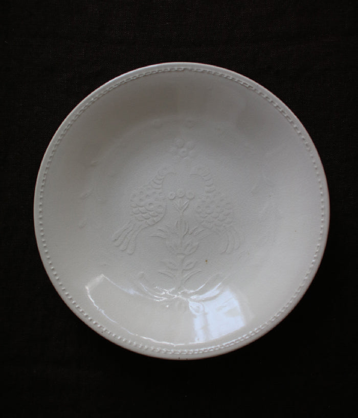 "Hump Moulded Large Plate Birds (24cm/9.45"")"