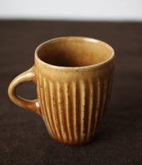 Gunji Pottery Pleated Cup