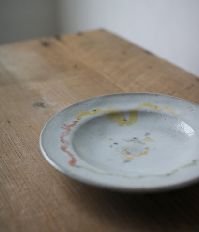 Gunji Pottery Painted Plate