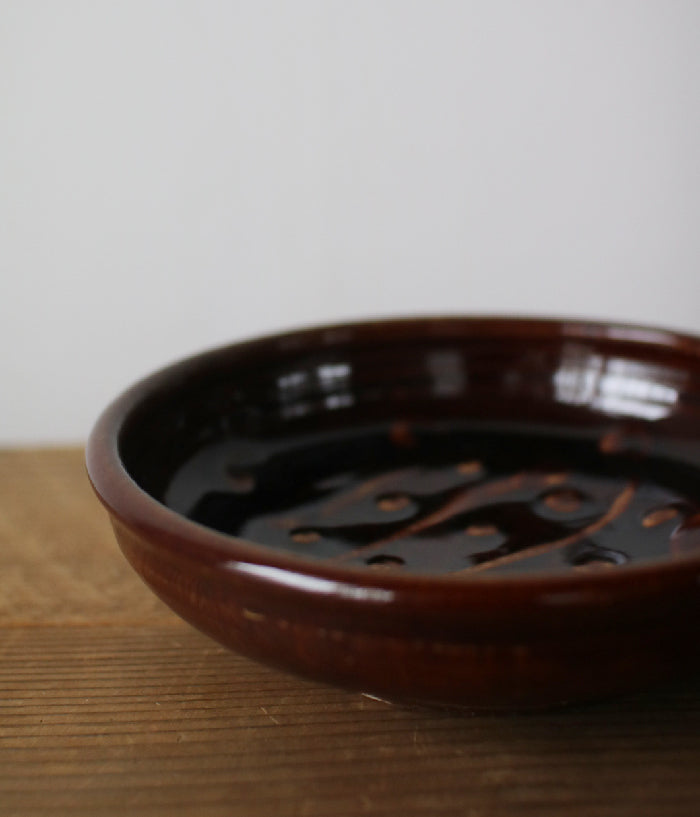 Gunji Pottery Medium Shallow Bowl [A]