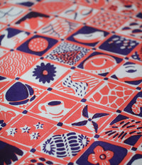 Natsuko Kozue A3 Wrapping Paper {Winter & Rice Plants}