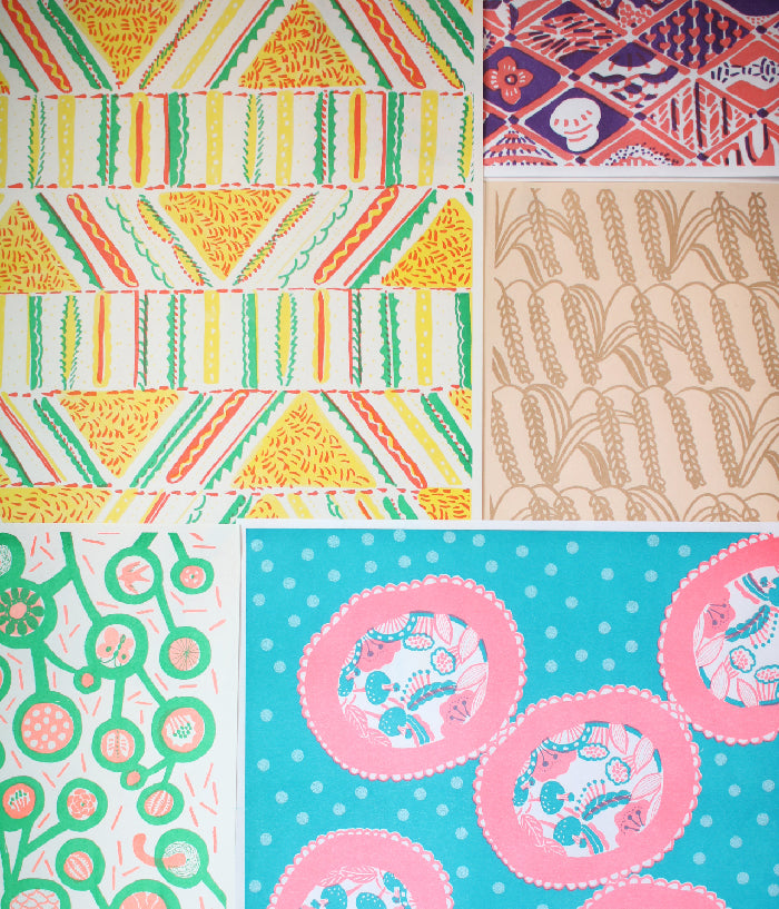 Natsuko Kozue Art Papers {Random Mix}