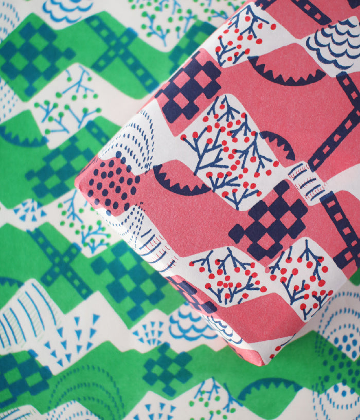 Natsuko Kozue A3 Wrapping Paper {Fields}