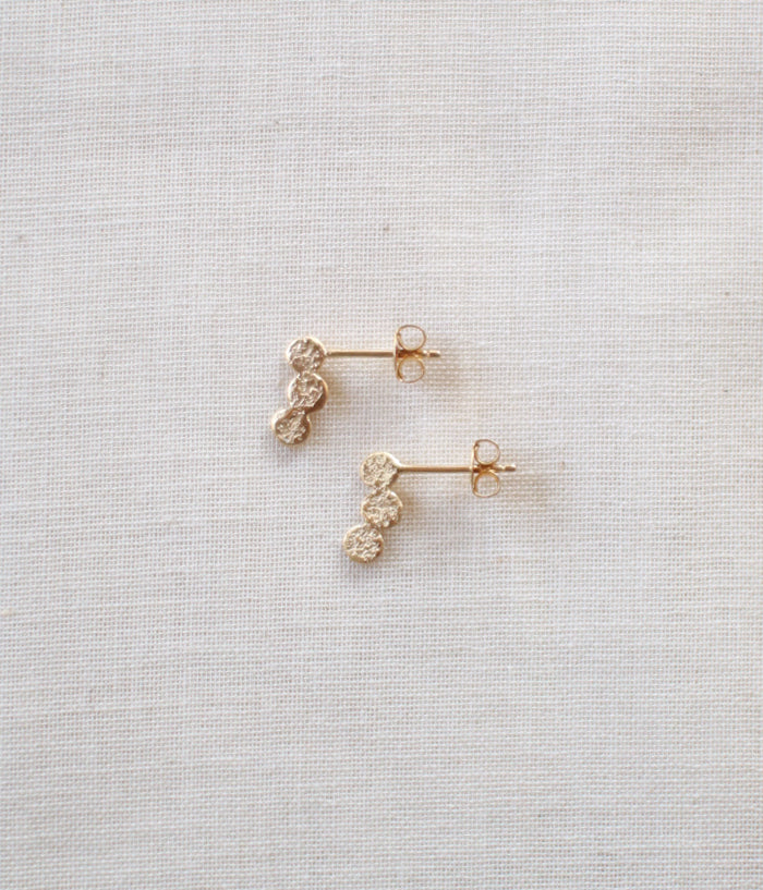 "Jona ""tenten 3co"" Stud Earrings"