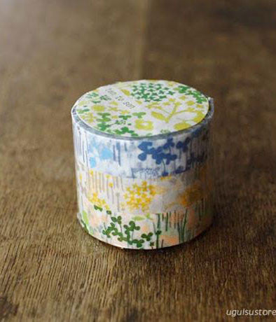 Ten-to-sen Washi Tape 3 Roll Set {Little Garden}