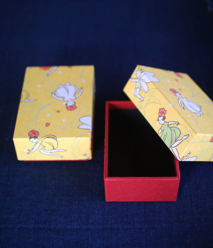 Masco Eri x Haibara Chiyogami Small Lidded Box