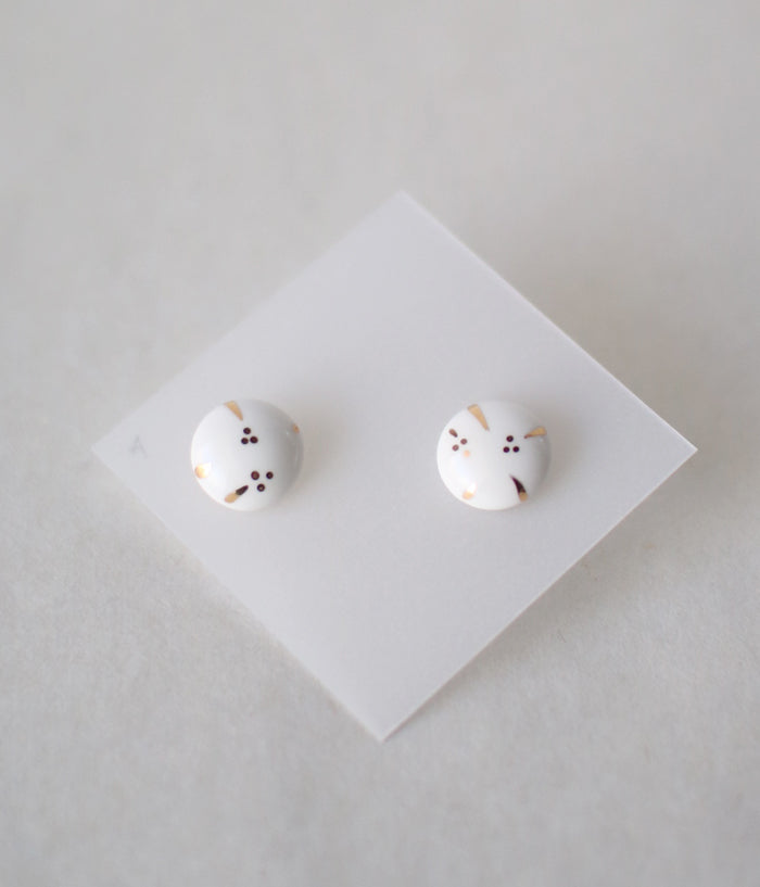 Kimiko Suzuki Tablet Earrings [A]