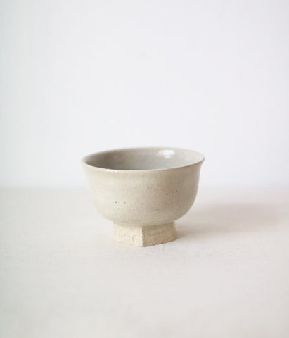 Iga Small Bowl with Hexagon Foot {Sekkai}