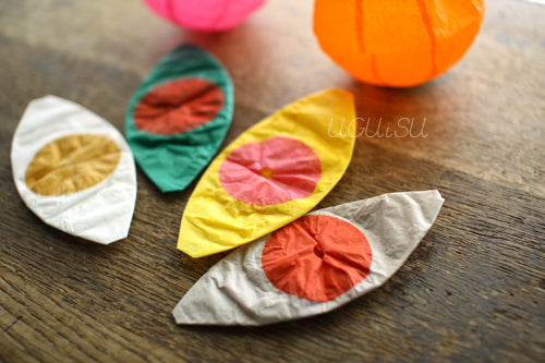 Japanese Paper Balloon {Two-colour Mini Set}