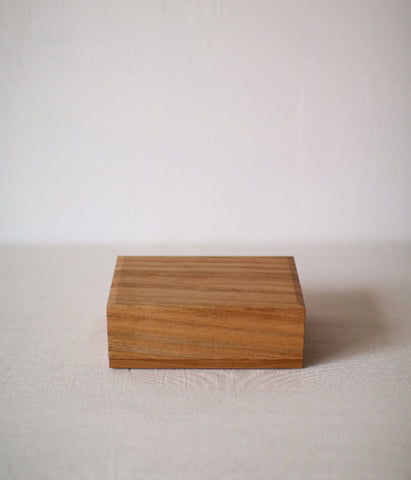 Cherry Wood Butter Dish
