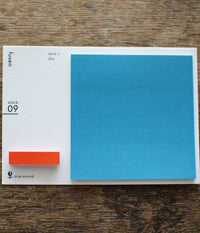 Fusen Sticky Notes {09: red+blue / Square}