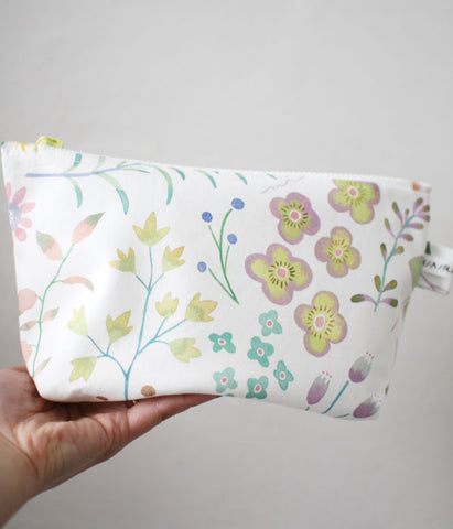 HARVEST zipper pouch {garden}