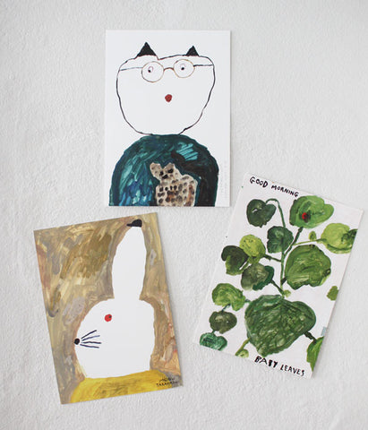 Mogu Takahashi Art Cards NEW