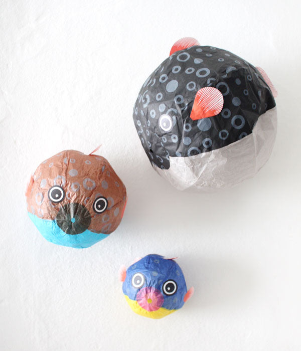 Japanese Paper Balloon {Balloon Fish Family}