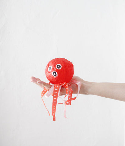 Japanese Paper Balloon {Octopus}