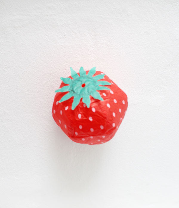 Japanese Paper Balloon {Strawberry}
