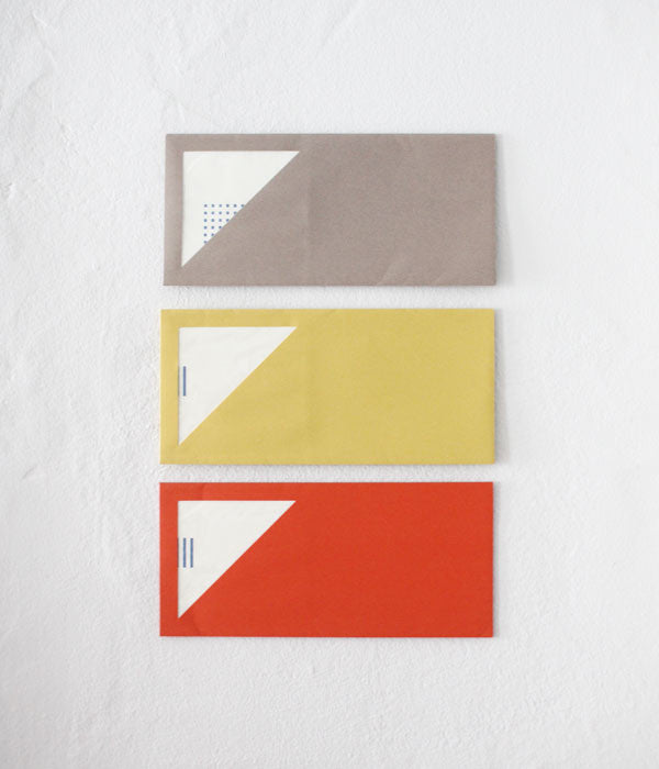 Geometric Windowed Envelopes+Cards Set