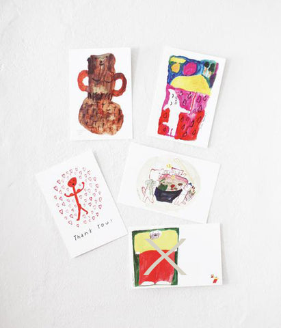 Mogu Takahashi Small Cards