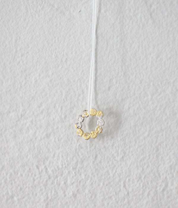 Jona Tenten O Necklace {White}