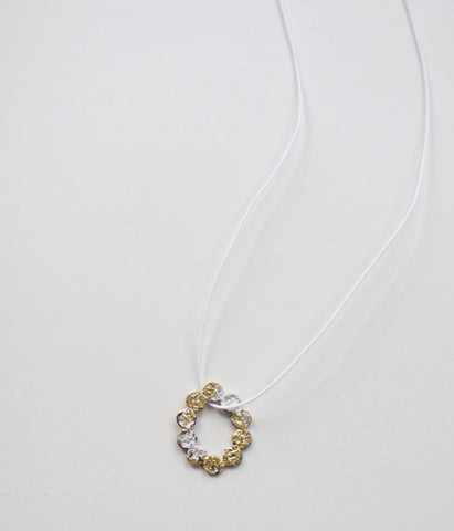 Yasushi Jona Tenten O Necklace {White}