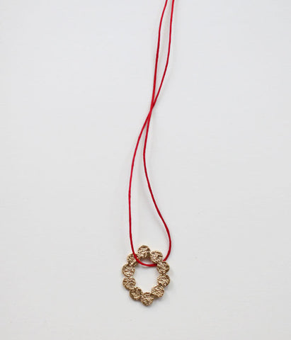 Yasushi Jona Tenten O Necklace {Gold}