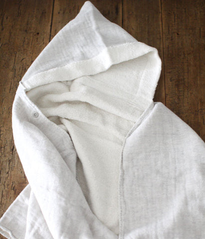 Organic Cotton Hooded Bath Towel